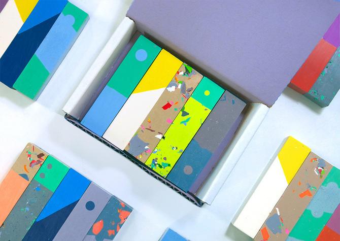 Lampada Origami Di Edward Chew : Arte: i pastelli di design from k to j osso magazine